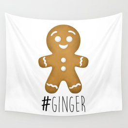 #Ginger Wall Tapestry