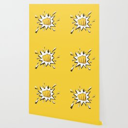 Yellow Fist by Star Wallpaper