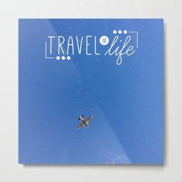 In The Aeroplane Over The Sea Metal Print