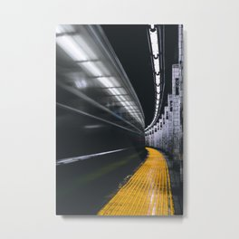The Subway (Color) Metal Print