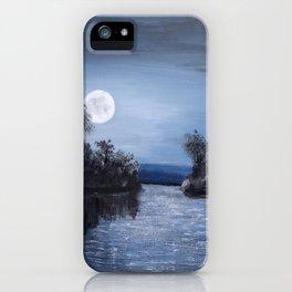 Full Moon - Acrylic iPhone Case