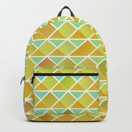 Tiny triangles pattern Backpack