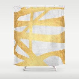 Golden expression IV Shower Curtain