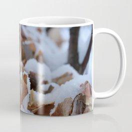 Snowy Birch Tree Coffee Mug