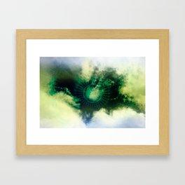 Karmic SOS Framed Art Print