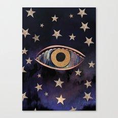 Open your third eye Canvas Print