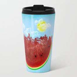 Watermelon City Travel Mug