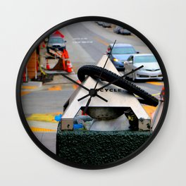 Re'cycled Wall Clock
