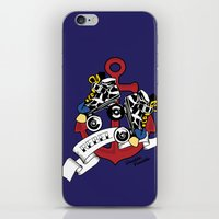 rebel iPhone & iPod Skins featuring Rebel! by Double Trouble