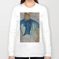 vogue Long Sleeve T-shirts featuring Vogue by Taylor Starnes