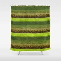 palm Shower Curtains featuring Palm by JDRicker