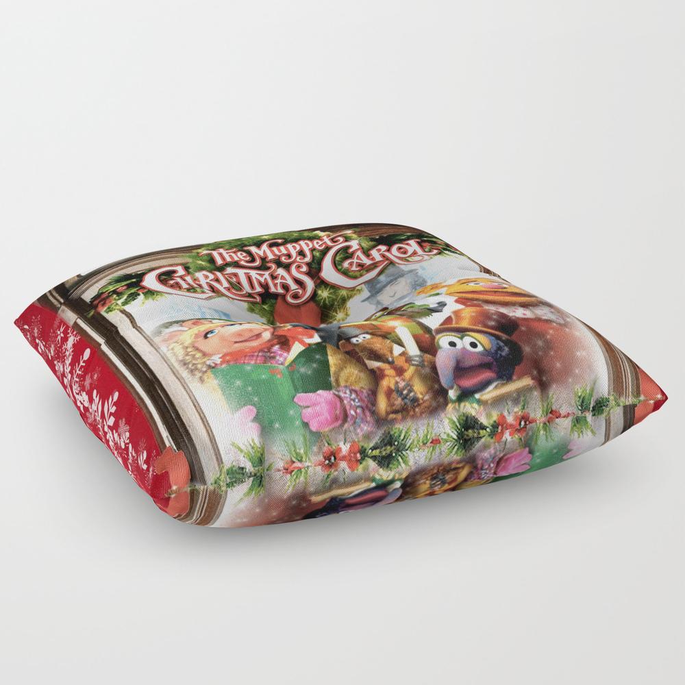 The Muppet Christmas Carol Square Floor Pillow by Emdavis27 FPL7821293