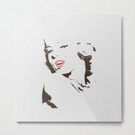 It's Marilyn Metal Print