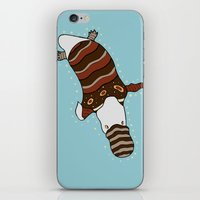 platypus iPhone & iPod Skins featuring Platypus by Siraea