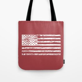 The Flag of the  USA with Rusty Effect II Tote Bag