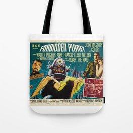 Forbidden Planet Poster  Tote Bag