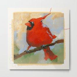 cardinal #2 Metal Print