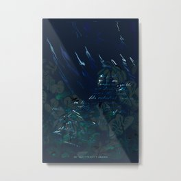 """""""Conquest of the Useless"""" by Werner Herzog Print (v. 6) Metal Print"""