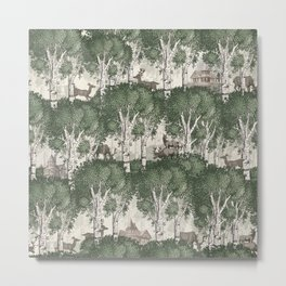 My deer secret forest Metal Print