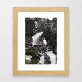 White Lady Framed Art Print