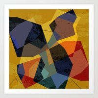 abstract  / 047 Art Print