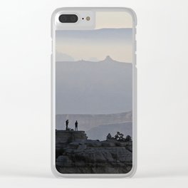 We are small--Grand Canyon, Arizona Clear iPhone Case