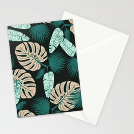 Tropical Leaves II Stationery Cards