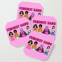 Feminist Gang Coaster