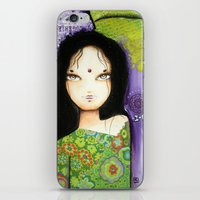 indian iPhone & iPod Skins featuring Indian by ByCabotine