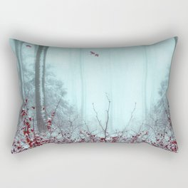 everything and more - winter forest Rectangular Pillow
