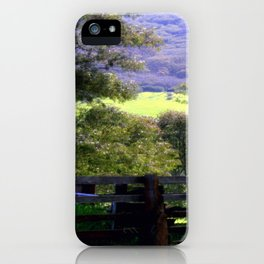 Cattle Yard iPhone Case