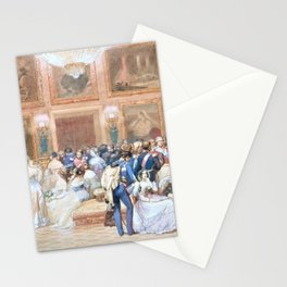Eugene Louis Lami - Orleans Tuileries - Digital Remastered Edition Stationery Cards
