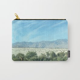 Palm Springs Mountains-California Desert Carry-All Pouch