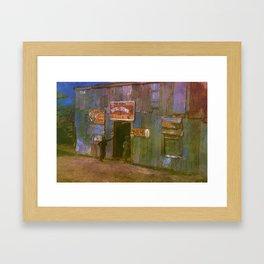 Juke Joint - Belle Glade, FL. Framed Art Print