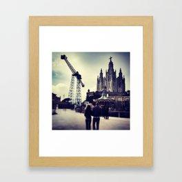 Tibidabo Framed Art Print