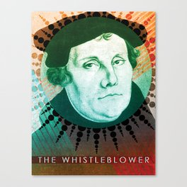 The Whistleblower Canvas Print