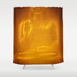 Buddha from Thailand  Shower Curtain
