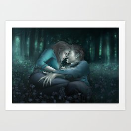The Meadow. The Twilight Saga Art Print