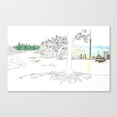 'CANADA' PART 7 OF 10* Canvas Print