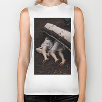 twins Biker Tanks featuring Twins by Brianne Daigle