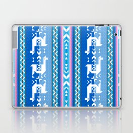 Llamas_Pink and BlueSky Laptop & iPad Skin