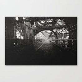 New York City: Williamsburg Bridge Canvas Print