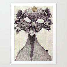 Meeting With Beksinski Art Print