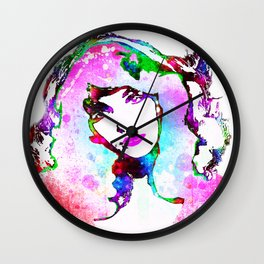 Painted Kate Wall Clock