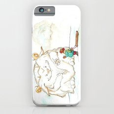 A Friendly Snow Monster iPhone 6s Slim Case