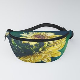 Sunflower At Sunrise Fanny Pack