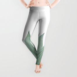 Agave Green Summer Vibes #1 #tropical #decor #art #society6 Leggings