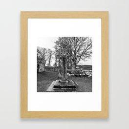 Kidalton Cross Framed Art Print