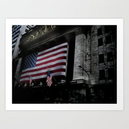 New York Stock Exchange, NYSE Art Print