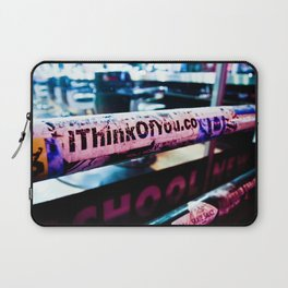 I Think of You Laptop Sleeve